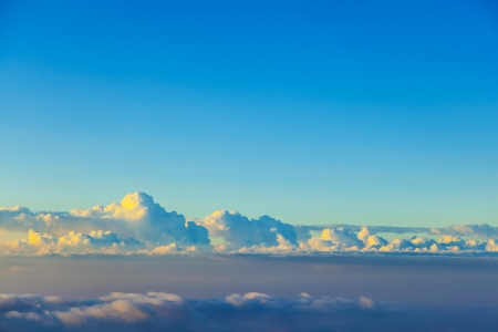 white cloudscape in the sky Stock Photo - 15118730