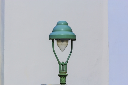 historic street lantern in Bonn photo