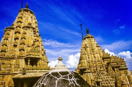 jain: jain temples of jaisalmer in rajasthan state in india