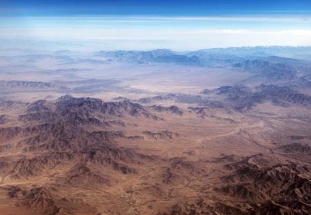 The Baba Mountain range of the Hindu Kush between Kabul and Kandahar in Afghanistan Zdjęcie Seryjne