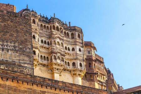 famous meherangarh fort in jodhpur - india Stock Photo - 16348060