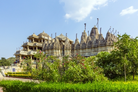 Jain Temple in Ranakpur,India Stock Photo - 16348062