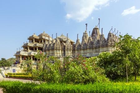 Jain Temple in Ranakpur,India Stock Photo - 16348062