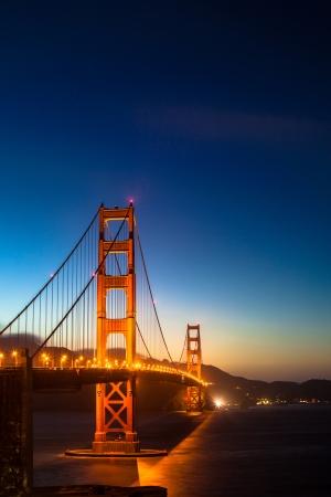 Puente Golden Gate por la noche
