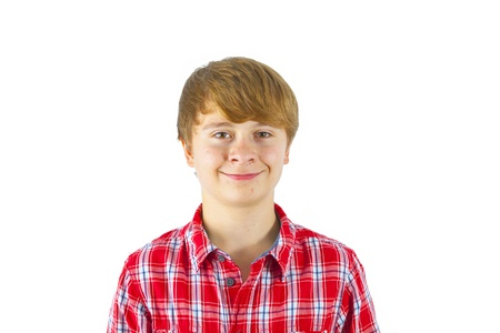 cute happy smiling young boy Stock Photo - 16391753