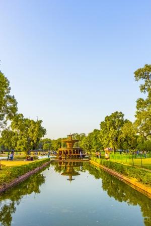 india gate: beautiful india gate lake nearby the india gate