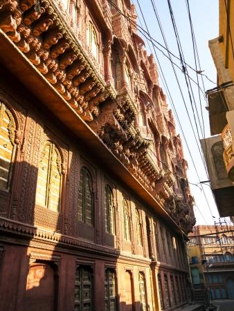 beautiful old haveli in Bikaner, Rajasthan, India Stock Photo - 16531744