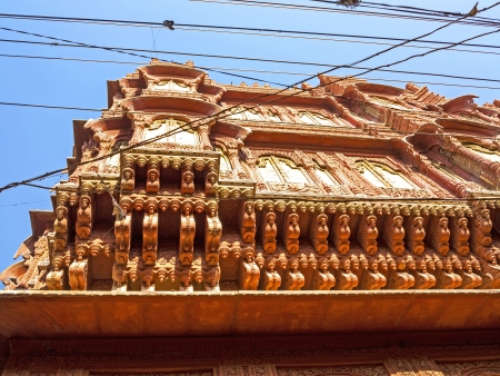 beautiful old haveli in Bikaner, Rajasthan, India Stock Photo - 16531746