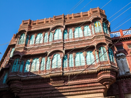 beautiful old haveli in Bikaner, Rajasthan, India Stock Photo - 16531748