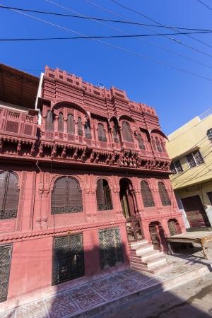 beautiful old haveli in Bikaner, Rajasthan, India Stock Photo - 16531745
