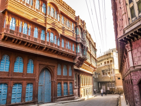 beautiful old haveli in Bikaner, Rajasthan, India Stock Photo - 16531747