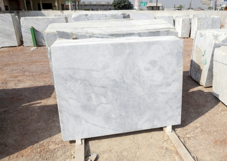 marble plates for sale in the marble shop Stock Photo - 16588604