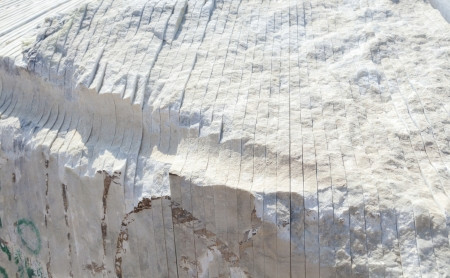 marble structure in detail with sawing marks Stock Photo - 16588602