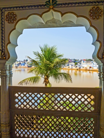 View of the City of Pushkar, Rajasthan, India. Stock Photo - 16743243