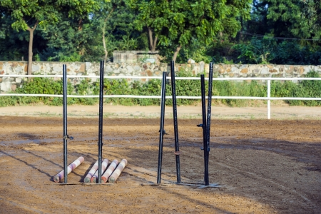 equid: training equipment for horse jumping in the parcours