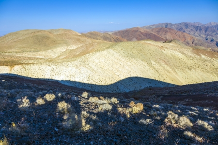 wonderful scenic point Dantes view in the mountains of Death valley, east side photo