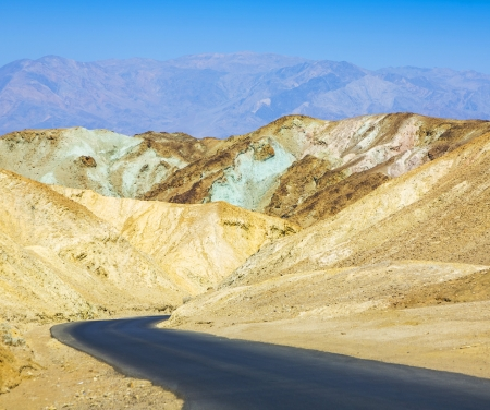 Artists Drive road, Death Valley National Park photo