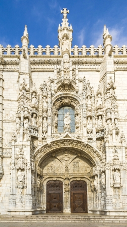 beautiful Jeronimos Monastery in Lisbon, Belem Stock Photo - 16944991