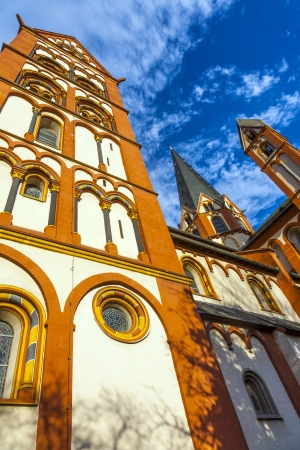 famous gothic dome in Limburg, Germany in beautiful colors Stock Photo - 16953867