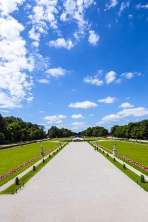 nymphenburg palace: park in nymphenburg castle, Munich