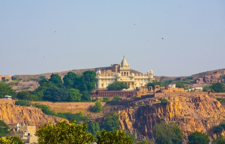 jaswant thada temple in jodhpur Stock Photo - 17250613
