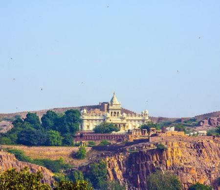 jaswant thada temple in jodhpur Stock Photo - 17250610