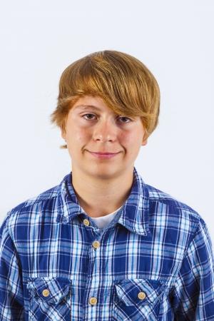 portrait of handsome smiling boy Stock Photo - 17424728