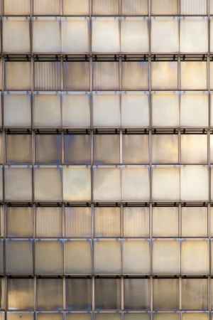 reflection of sky and clouds in a facade of a skyscraper Stock Photo - 17551043