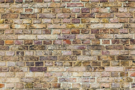 pattern of grunchy  brick wall with harmonic colors photo