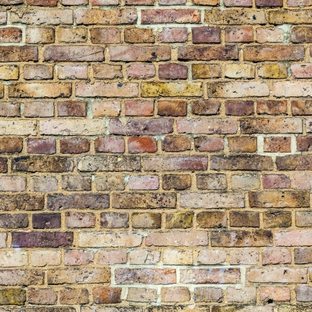 pattern of grunchy  brick wall with harmonic colors