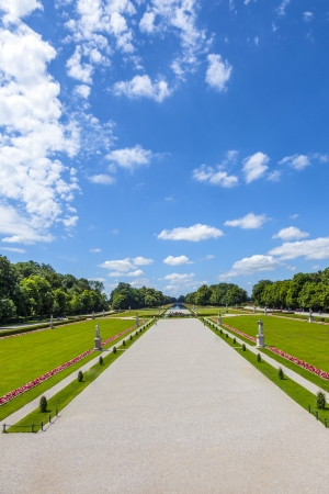 nymphenburg palace: park in nymphenburg castle, munich Editorial