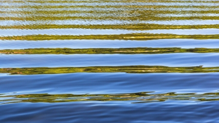 pattern of water with waves at the river Stock Photo - 18120237