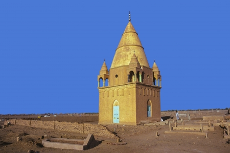 Sufi Mausoleum in Omdurman, Sudan