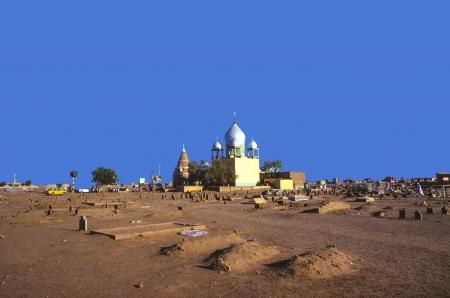 cemetry: Sufi Mausoleum in Omdurman, Sudan