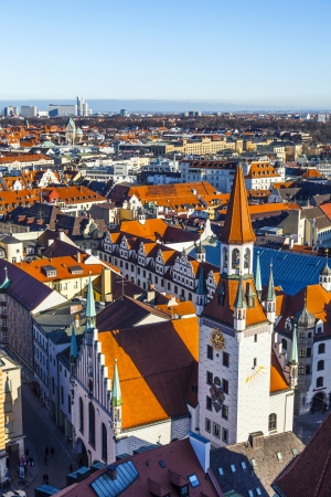 view to old town hall in Munich photo