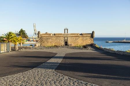 lanzarote: old Castillo de San Jose in Arrecife