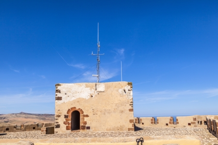 Santa Barbara Castle on the Guanapay mountain, Teguise, Lanzarote, Canary Islands, Spain