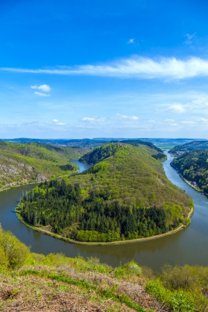 saar: Saar loop at Cloef  A famous view point
