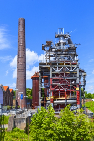 old iron works monuments from the late 20th century Stock Photo - 20060251