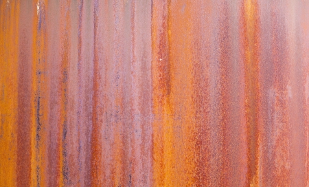 pattern of rusty metal of an old chimney Stock Photo - 20558099