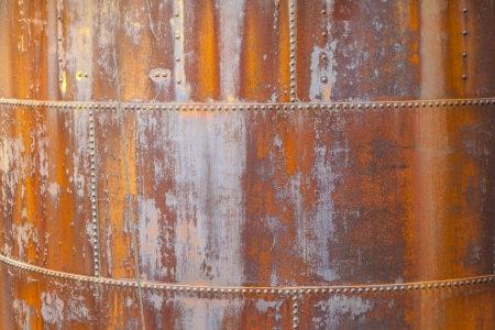 pattern of rusty metal of an old chimney Stock Photo - 20558004