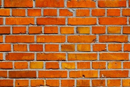 harmonic: harmonic wall pattern with red bricks Stock Photo