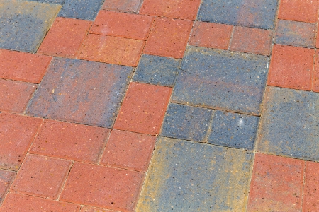 bricks at the floor give a harmonic pattern Stock Photo - 21378584