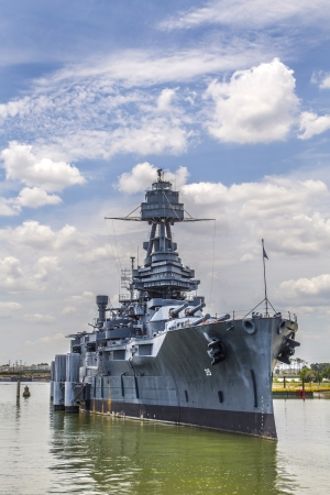 The Famous Dreadnought Battleship Texas