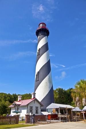 augustine: beautiful lighthouse from Sankt Augustine in Florida