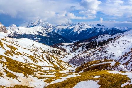 sella: Italy, Dolomite mountains, Sella pass