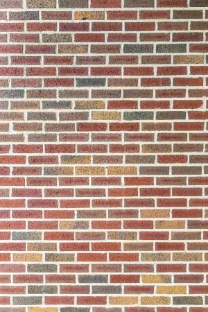 harmonic red brick wall background Stock fotó - 24642099