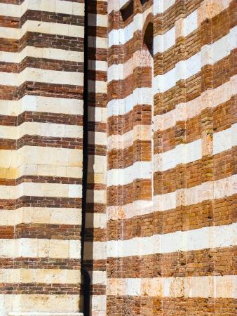 catholism: detail of the Duomo church in Verona, Italy