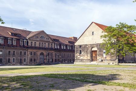 barracks: Petersberg Citadel in Erfurt is one of the biggest still existing early-modern citadels in Europe Editorial