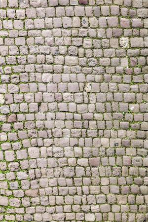 old cobble stone street in Heidelberg
